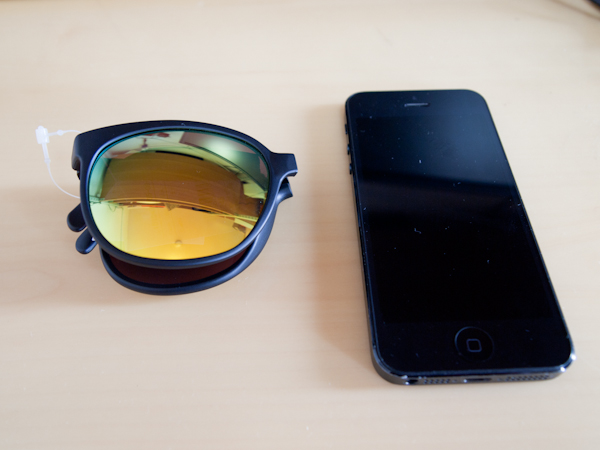 SUNPOCKETとiPhone5