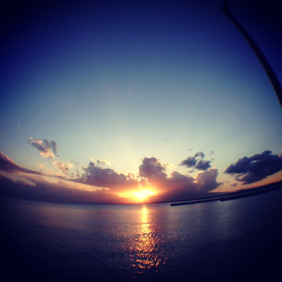 olloclip + instagram / sunset@江ノ島