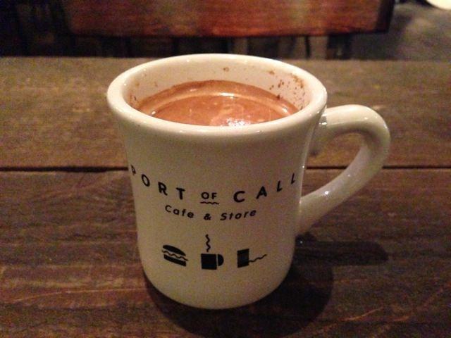 PORT OF CALL コーヒーカップもいい感じです