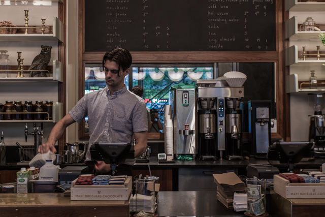 ACE HOTEL NY内にあるStumptown Coffee
