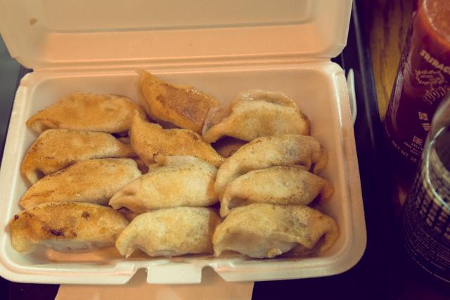 Vanessas Dumpling Houseの焼餃子