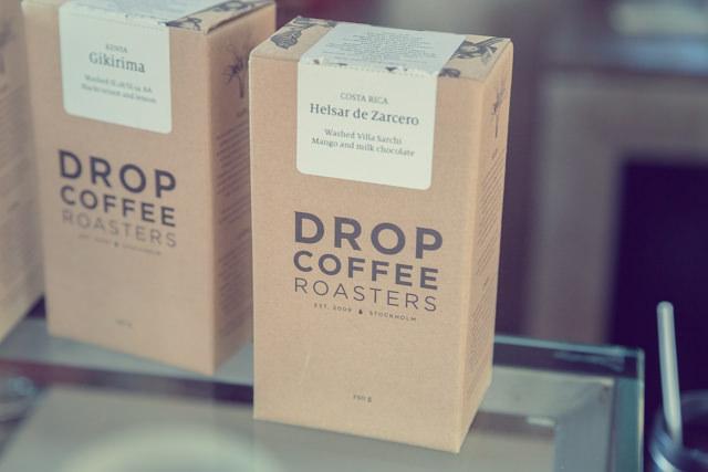 スウェーデンのDROP COFFEE ROASTERS気になります