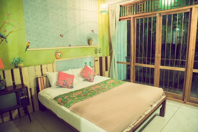 phranakorn nornlen hotelの寝室