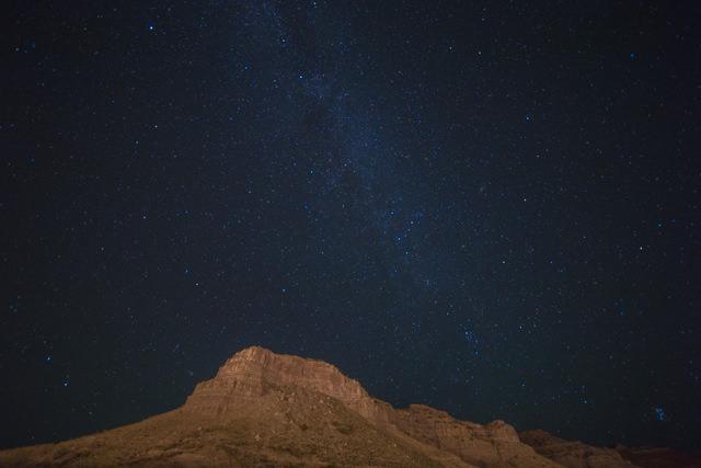 抽選所の近くで一泊して見た星空は綺麗でした