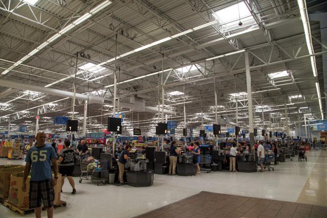 アメリカ全土にある大型スーパーwalmart