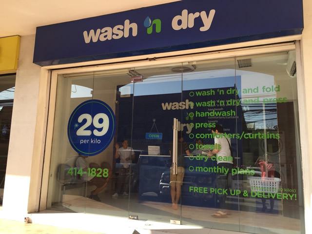 洗濯屋 wash 'n dry