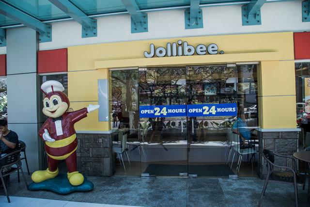 フィリピン人に人気のファーストフード店ジョリビー