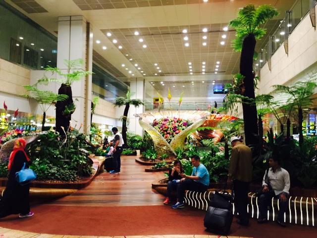 世界一のチャンギ空港