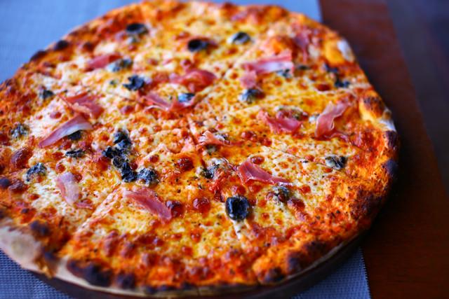 ピザはレベル高いです!