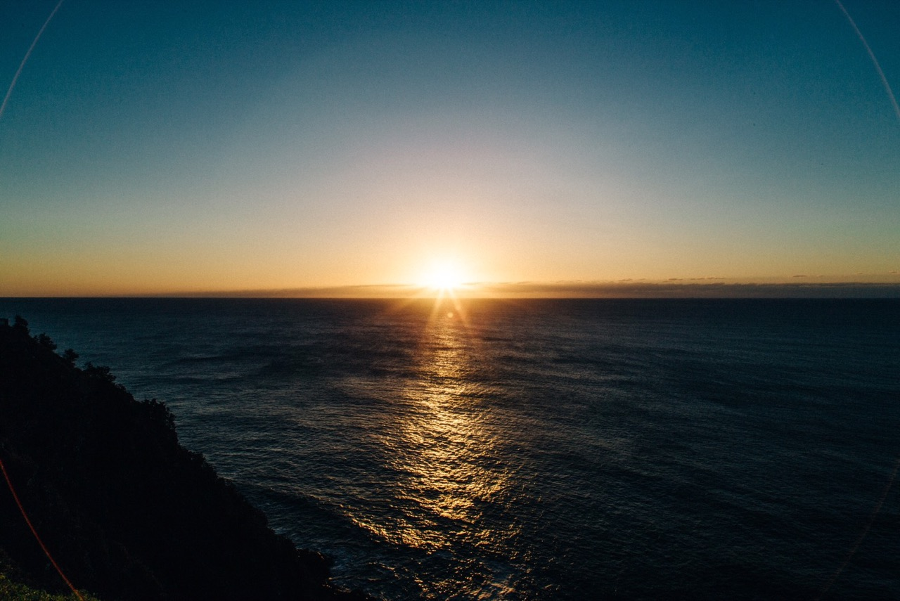 SUNRISE at Cape Byron Lighthouse