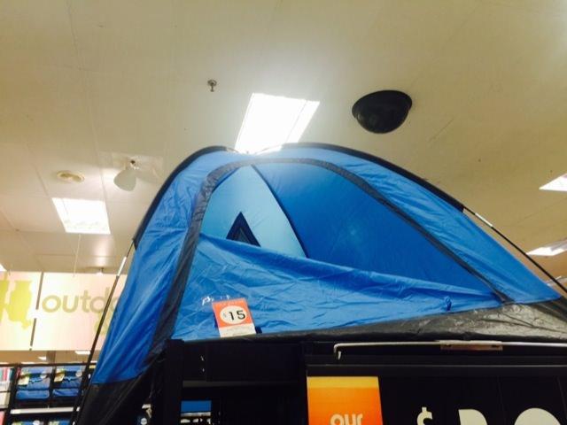 $15のテント