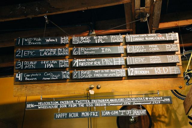地ビールが沢山選べます