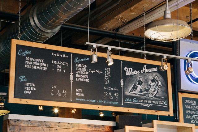 お得な価格設定のwater avenue Coffee