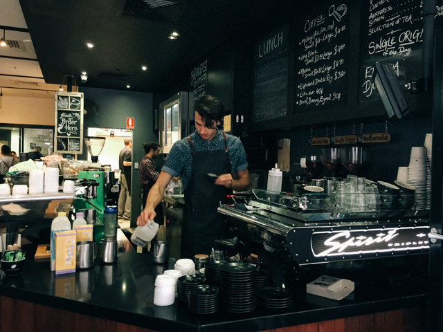 Brisbaneの人気カフェTOBY'S ESTATE