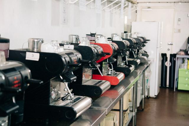 ブリスベンのコーヒースクールの様子