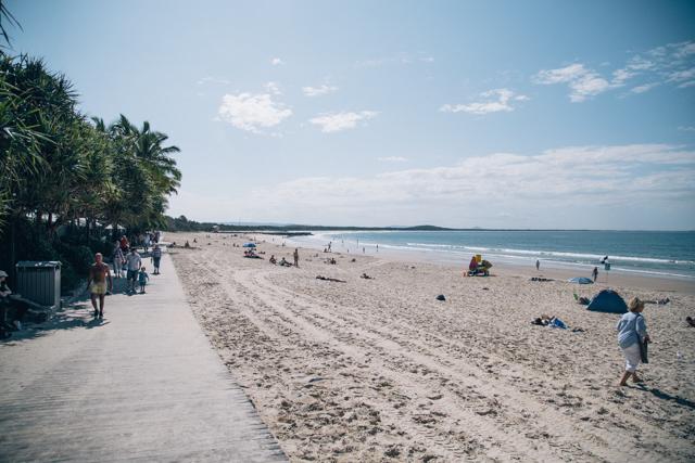 NOOSAのビーチ