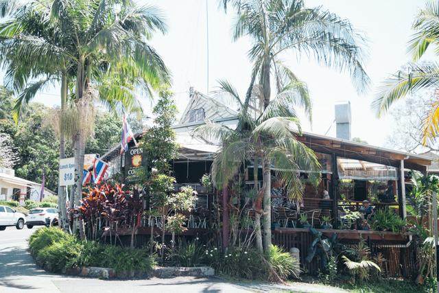 Eumundi Market近くのタイ料理レストラン