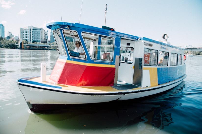 ブリスベンリバーの無料ボート