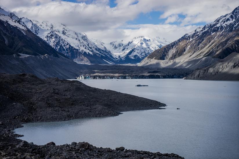 最終地点の氷河が見えるところ
