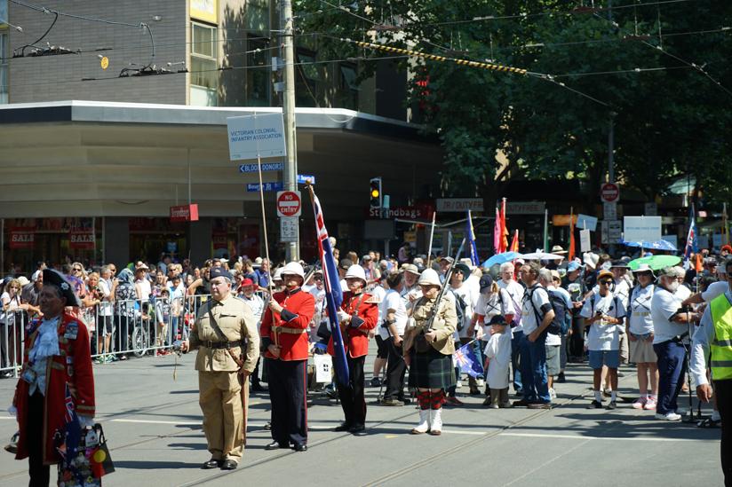 オーストラリアンデイのパレード