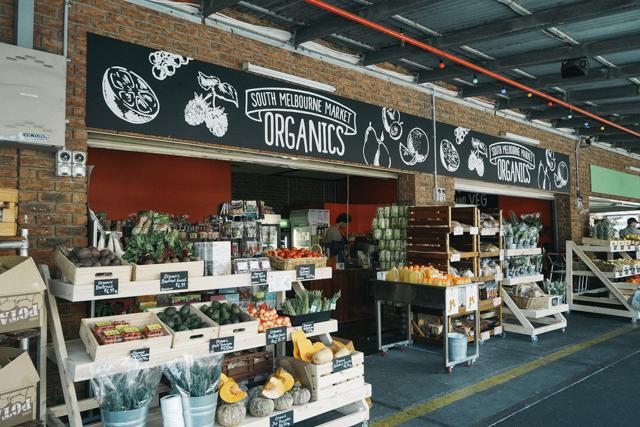 オーストラリアに多いオーガニックの食品店