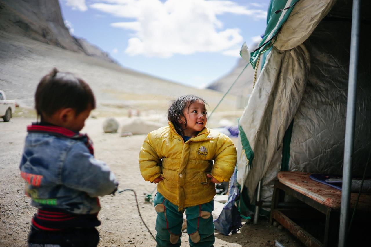 チベットにて