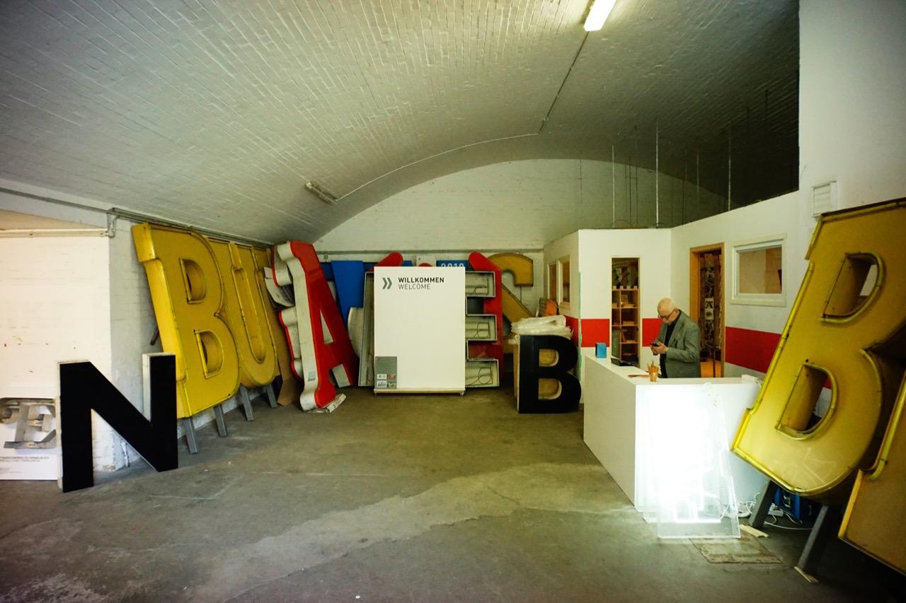 buchstaben museum入口