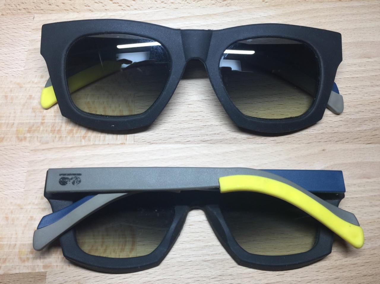 作ってみたサングラス
