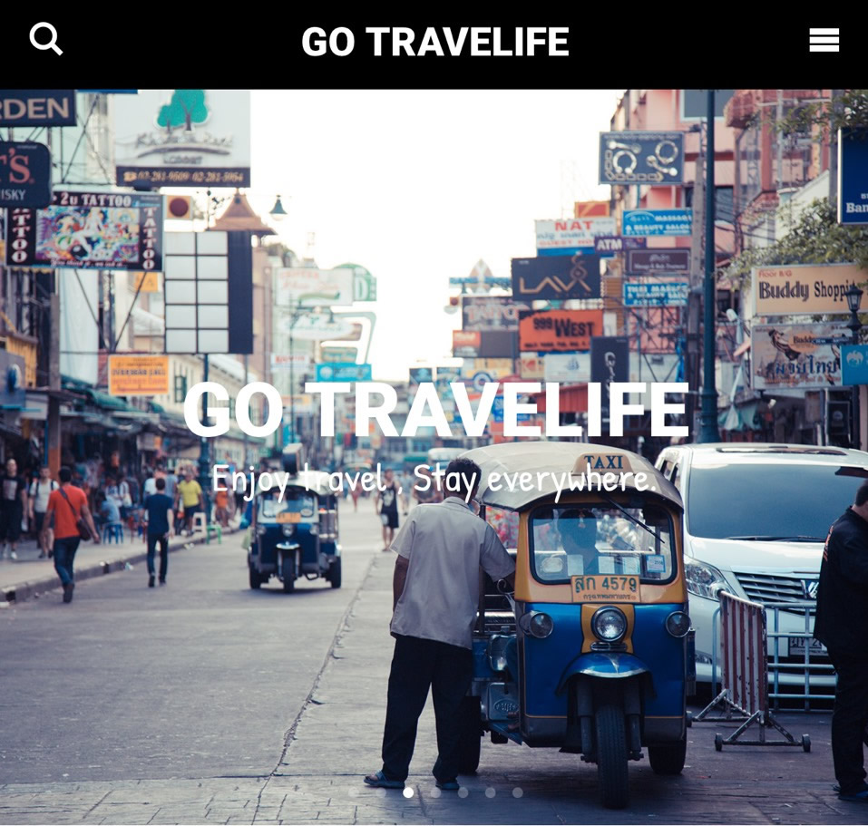 GO TRAVELIFE ver3.0