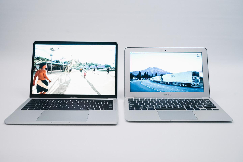 新しいMacbook Pro'13と今まで使ってきたMacbook Air'11
