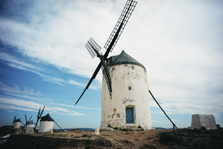 コンスエグラの風車