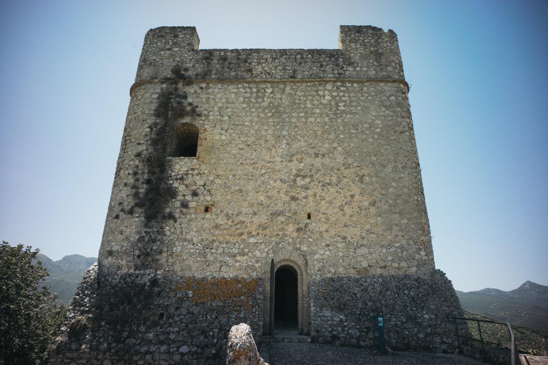 塔の上の方