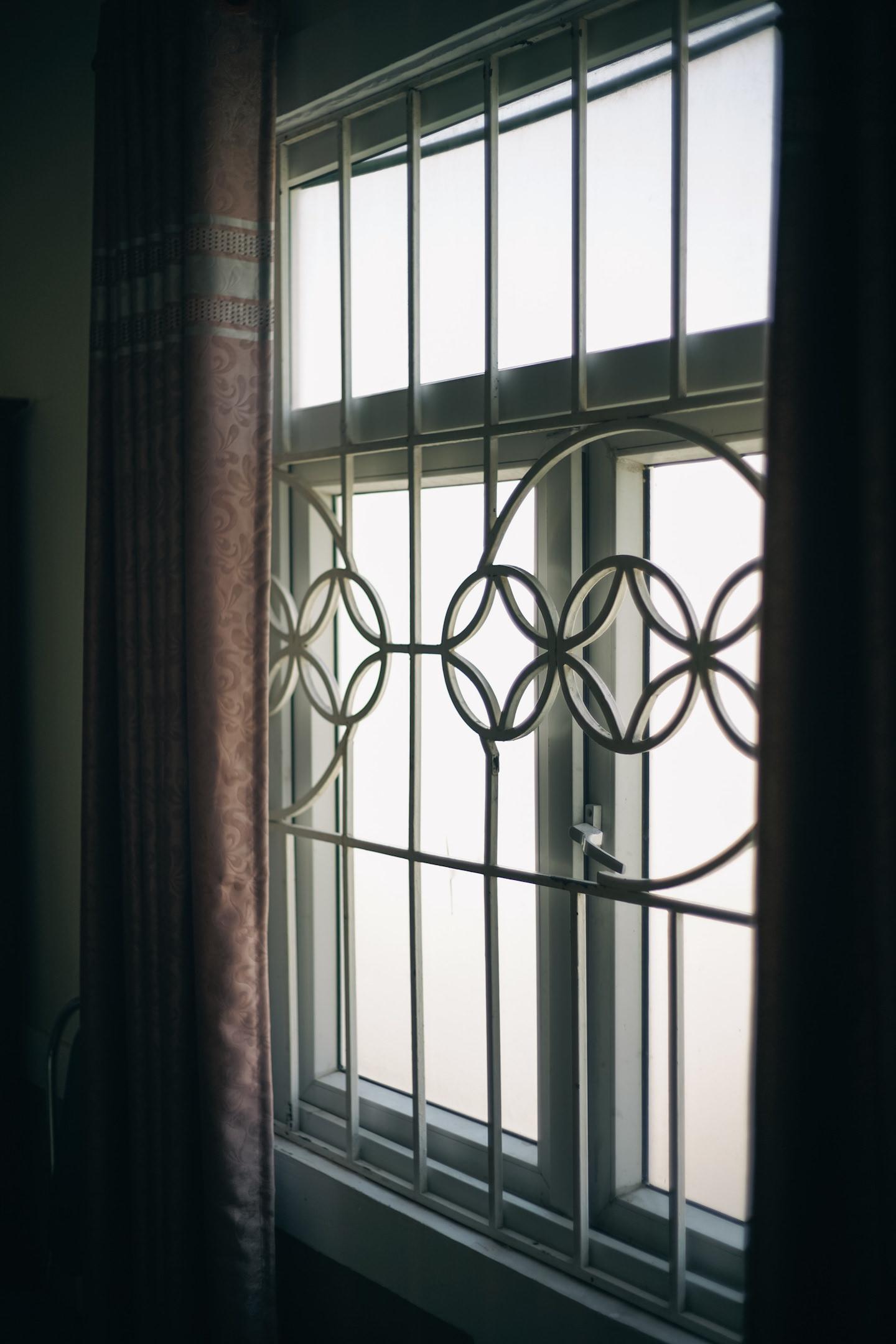 なんだか好きだった借りていた部屋の窓枠