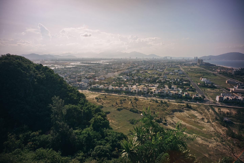 五行山の上からの眺め
