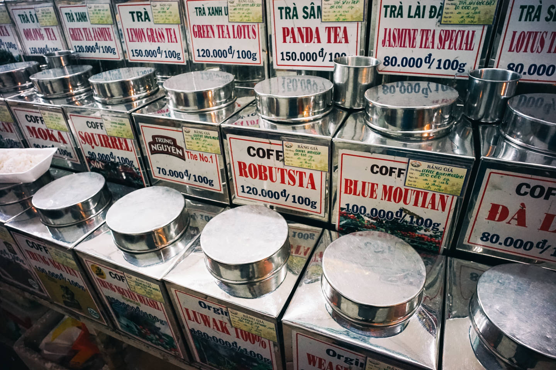 ベトナムはコーヒー文化が盛ん