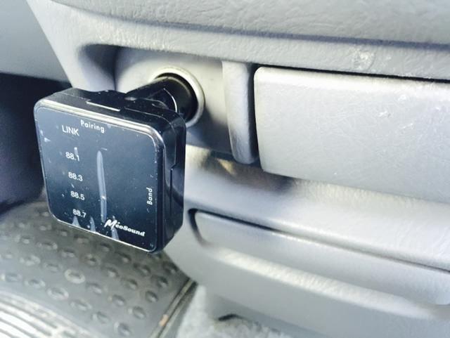 TAXAN MeoSound Bluetooth FMトランスミッター