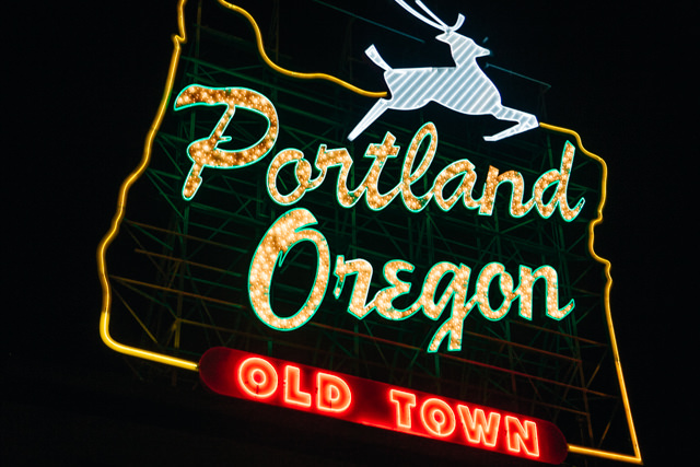 オレゴン州ポートランド